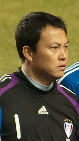 Lee Woon-Jae in maart 2009.
