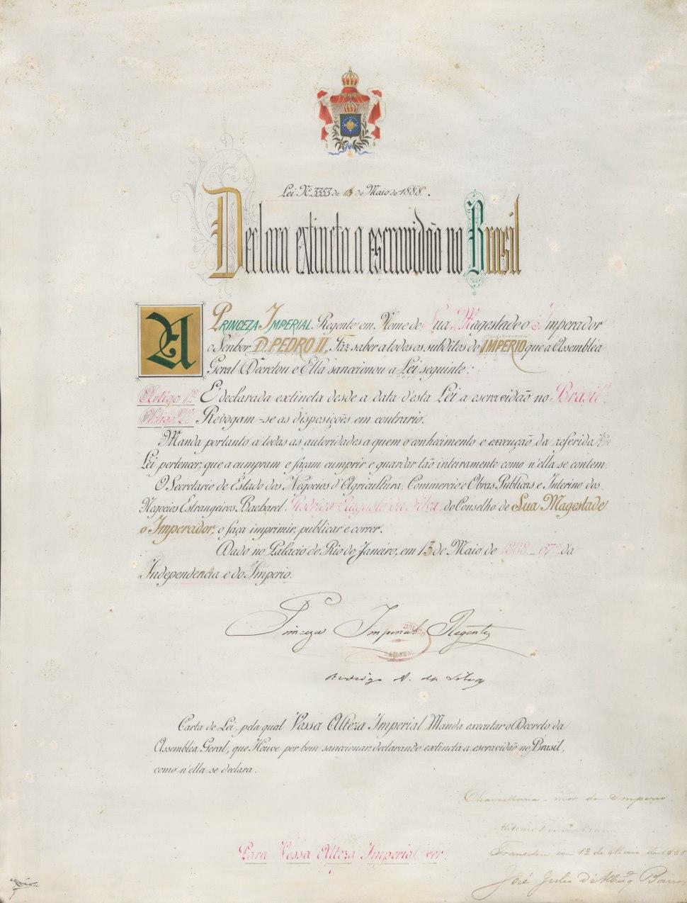 Lei Áurea (Golden Law)