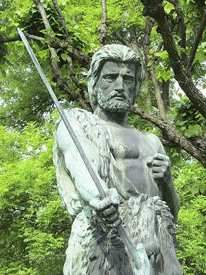 Kullervo (Sallinen) - Carl Sjöstrand's statue of Kullervo, a Finnish mythological figure and the opera's protagonist