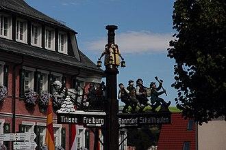 Lenzkirch - Image: Lenzkirch The street signs II