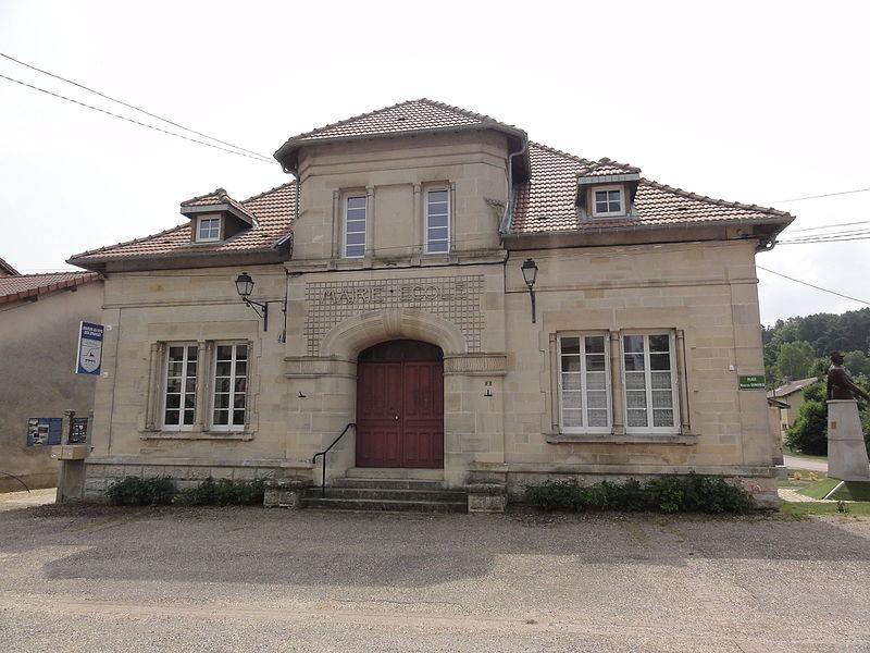 Les Éparges (Meuse) mairie-école
