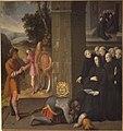 Les miracles de st-Benoit au Mont Cassin vient de l'abbaye Pierre des Dames de Reims XVII.JPG