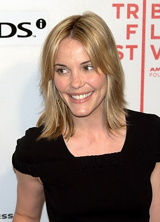 Leslie Bibb - Premiere of Moon at the Tribeca Film Festival, May 2009