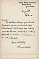 Letter from Arthur Conan Doyle to unidentified newspaper editor 1895.jpg