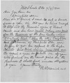 Letter to James Rose from the case of United States v. Daniel Benton, alias William Newby. - NARA - 281679.tif
