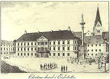 Die Leuchtenbergische Residenz in Eichstätt (Quelle: Wikimedia)