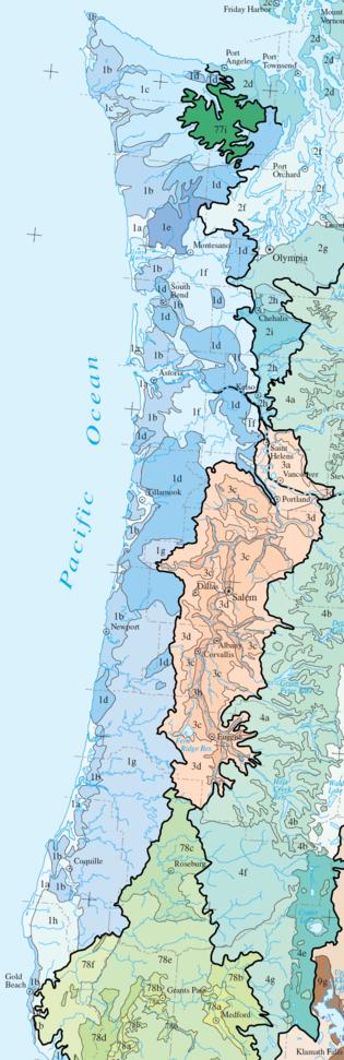 Coast Range Epa Ecoregion Wikipedia