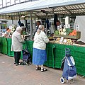 Lewis's vegetables in Wolverhampton Market - geograph.org.uk - 1522285.jpg