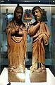 Liège, Grand Curtius. Vierge et Saint Jean (chêne, 1230-40).jpg