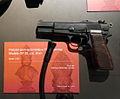 Liège, Musée des armes, Grand Curtius. Pistolet GP35 Browning, FN, Herstal, après 1935.JPG