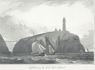 Light-house on the South Stack, Holyhead