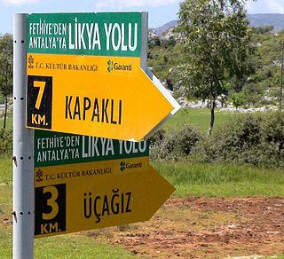Lycian Way Long-distance trail