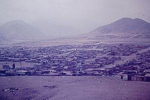 Villa El Salvador - Image: Lima barrios El Salvador Peru 1975 05 Overview