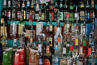 Host and hostess clubs - Mass amounts of alcohol for potential consumption.