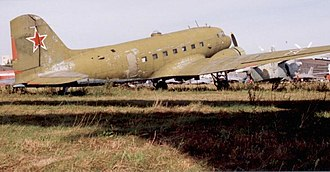 Lisunov Li-2 - Lisunov Li-2 of Soviet Air Force at Monino near Moscow in August 1994