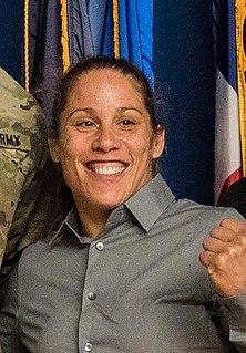 Liz Carmouche American mixed martial arts fighter