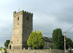 Llandybie - St Tybie's church