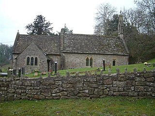 Llanvair Discoed Human settlement in Wales