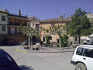 Loarre - Main square
