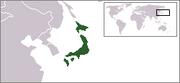 Localización de Japón