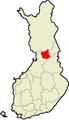 Location of Pudasjärvi in Finland.png