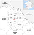 Locator map of Kanton Poitiers-5 2019.png