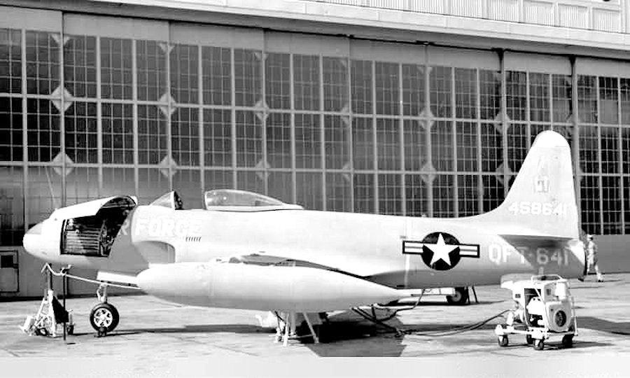 Lockheed P-80B-1-LO Shooting Star 44-58641 as QF-80 drone