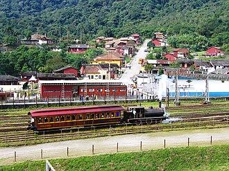 Paranapiacaba - Locomotives of Paranapiacaba