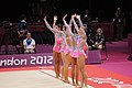 London 2012 Rhythmic Gymnastics - Russia Team 03.jpg