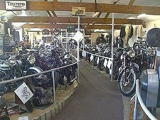 London Motorcycle Museum - Image: London Motorcycle Museum motorcycles