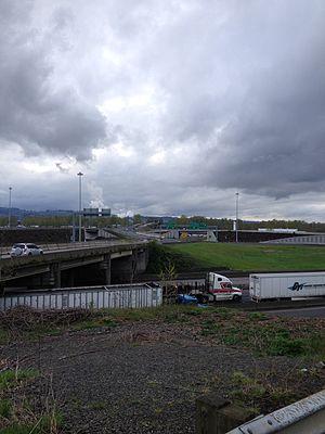 Washington State Route 432 - Longview Wye Interchange