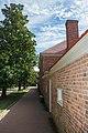 Looking SW along Slave Quarters - Mount Vernon - 2014-10-20.jpg