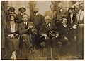 Lord Balfour in Biyamina with Vera and Chaim Weizmann, Nachum Sokolov and otehrs, 1925.jpg
