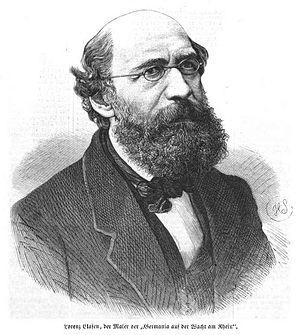 Lorenz Clasen - Lorenz Clasen (1871), drawing by Hermann Scherenberg.