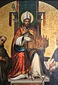 Lorenzo costa, san petronio tra i ss. francesco e domenico, 1502, 04.jpg