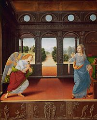 Lorenzo di Credi: The Annunciation