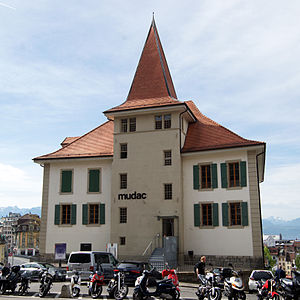 La Cité (Lausanne) - Image: Losanna, mudac 01