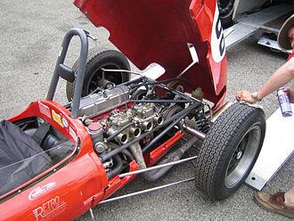 Cosworth - Cosworth Mk.IV on 1962 Lotus 20