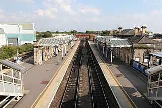 Loughborough railway station Grade II listed railway station in Loughborough, Leicestershire