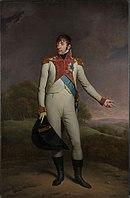 Portrait of King Louis Bonaparte of Holland in military uniform