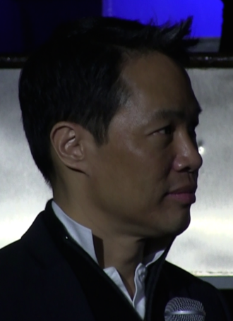 Richard Lui - Richard Lui at a panel discussion for the new show Fresh off the Boat