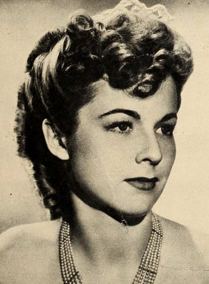Lucile Fairbanks - pictured in 1940
