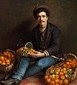 Ludovica Anina Thornam - En romersk appelsin sælger.jpg
