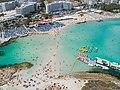 Luftbild Nissi beach Agia Napa (43722553741).jpg