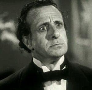 Schauspieler Luis Alberni