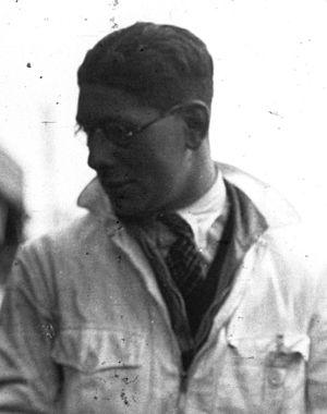 Luis Fontés - Luis Fontés at the 1935 24 Hours of Le Mans
