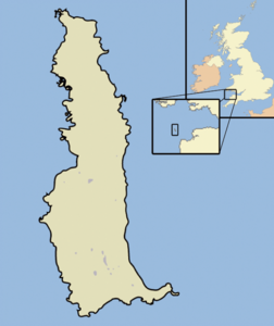 Lundy outline map.png