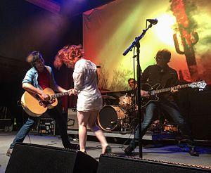 Lydia Loveless - Lydia Loveless singing Four Leaf Clover with the Old 97s. 9:30 Club (Washington DC) May 31, 2014