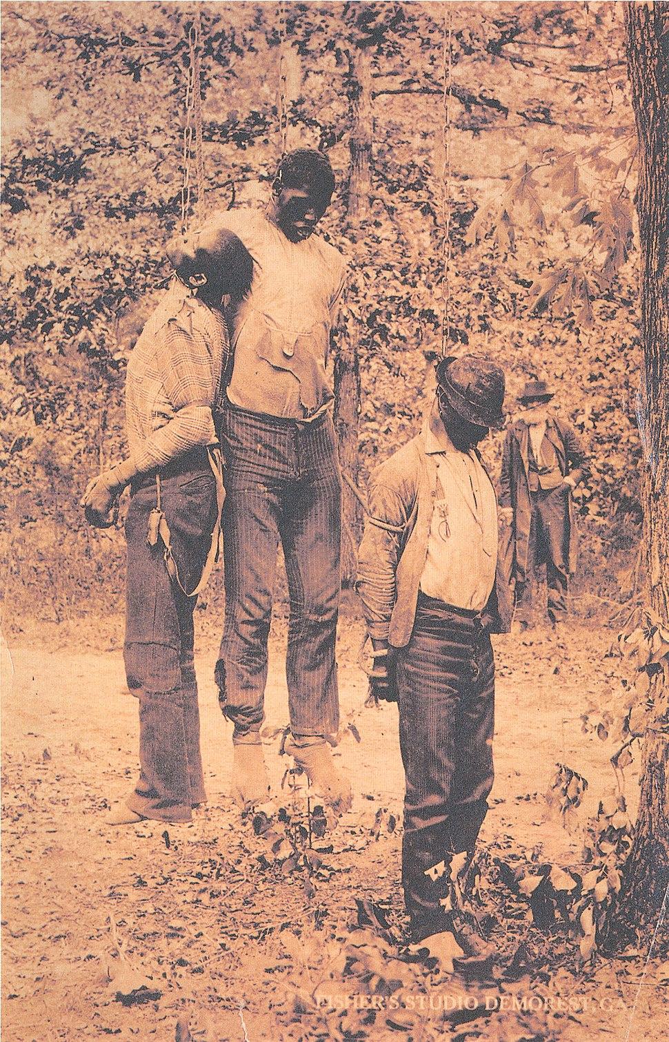 Lynching of Redmond, Roberson and Addison