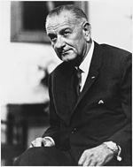 Lyndon B. Johnson. Waist length, seated - NARA - 518140.jpg